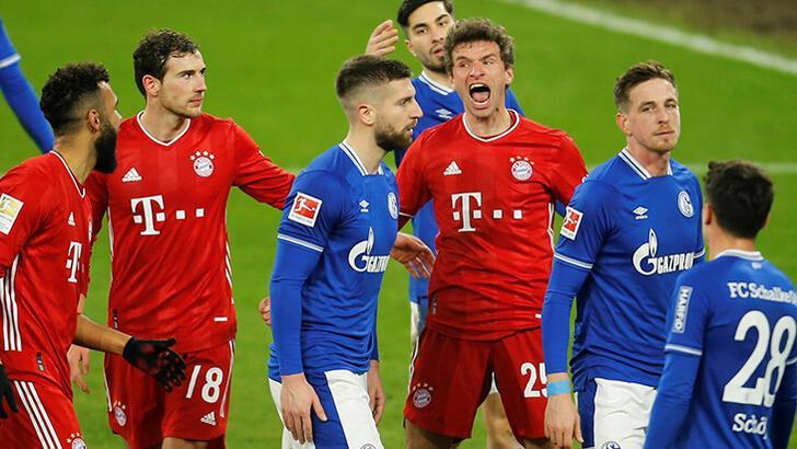 Bayern Münih, Schalke 04'ü dağıttı