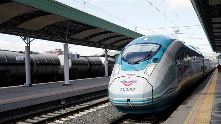 Ankara-Sivas YHT hattının performans testlerini yapacak tren yola çıktı