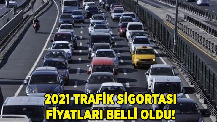 Trafik sigortası fiyatları ne kadar oldu 2021? İşte illere göre trafik sigortası fiyatları...