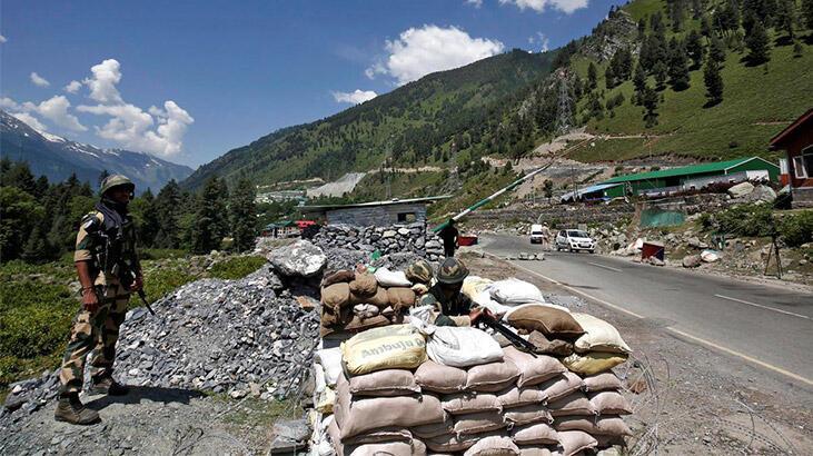 Son dakika: Çin-Hindistan sınırında gerginlik!