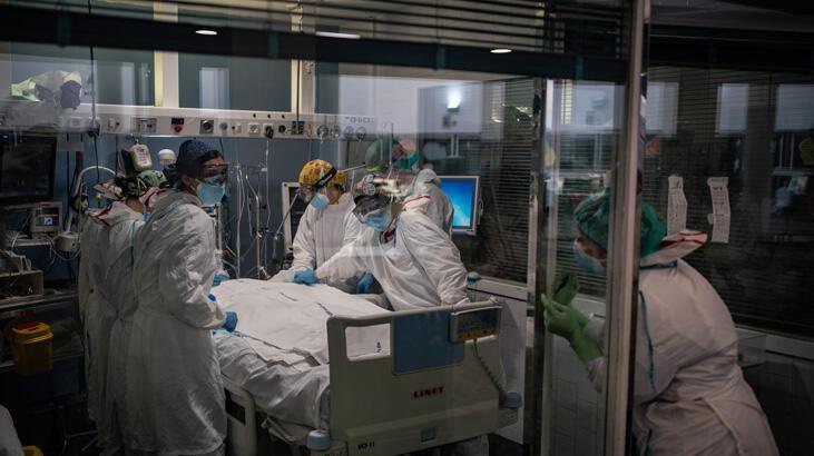 İspanya'da hastaneler tıklım tıklım