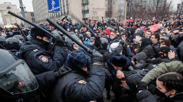 Ukrayna'dan Navalny'ye açık destek
