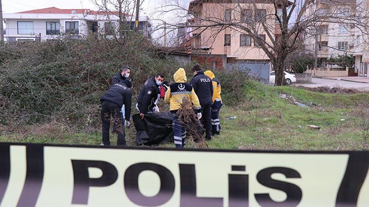 Sakarya'da boş bir arazide cansız bedeni bulundu