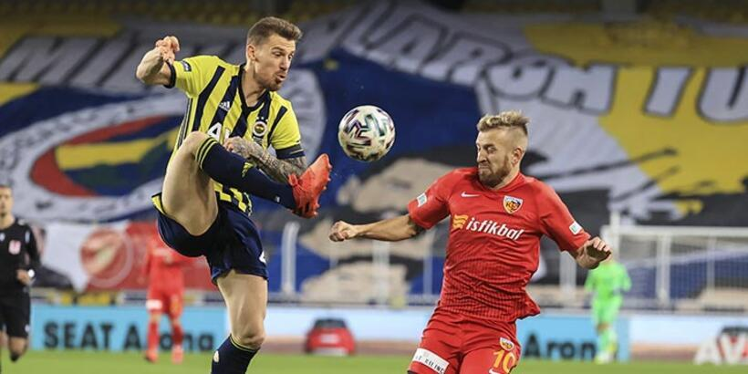 Fenerbahçe - Kayserispor: 3-0