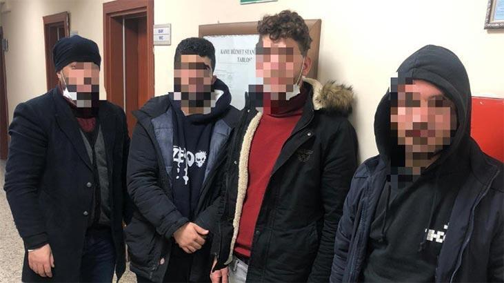 İtalya'ya gidecek konteynerde 4 kaçak yakalandı