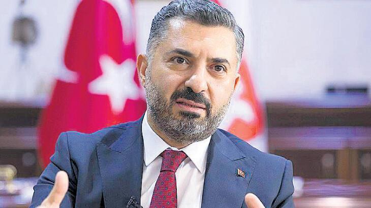 Şahin, yeniden RTÜK Başkanı