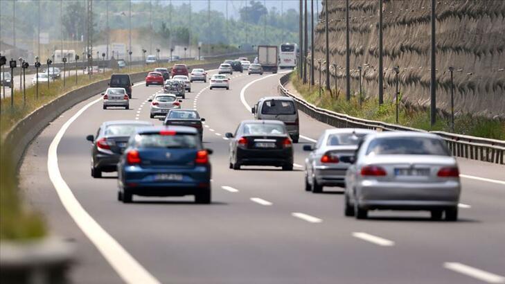 Geçen yıl trafiğe 1 milyon 39 bin aracın kaydı yapıldı