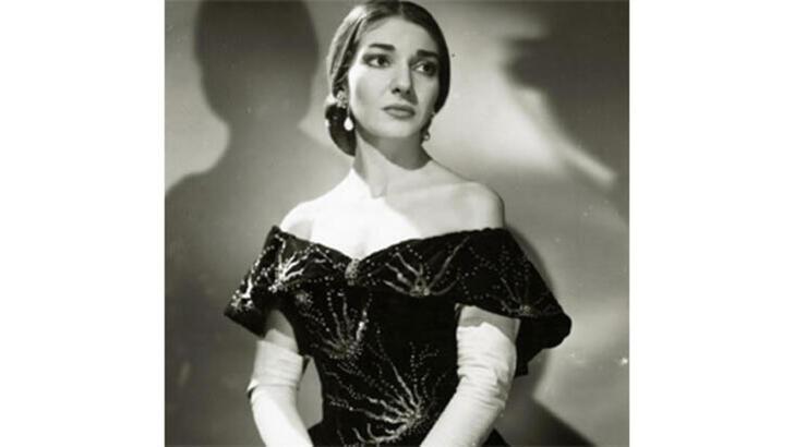 Dünyaca ünlü bir soprano: Maria Callas