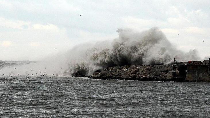 Meteoroloji'den bir uyarı da denizler için geldi