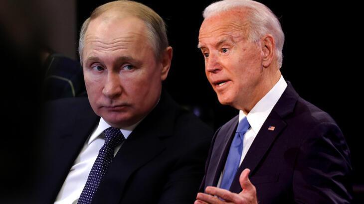 Son dakika: ABD Başkanı Biden ile Putin'den kritik görüşme
