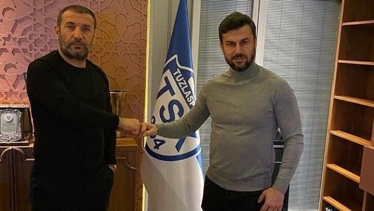 Tuzlaspor'da teknik direktörlüğe Ali Tandoğan getirildi