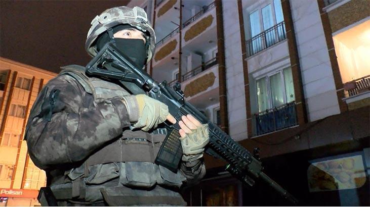 İstanbul'da 4 ilçede eş zamanlı operasyon!