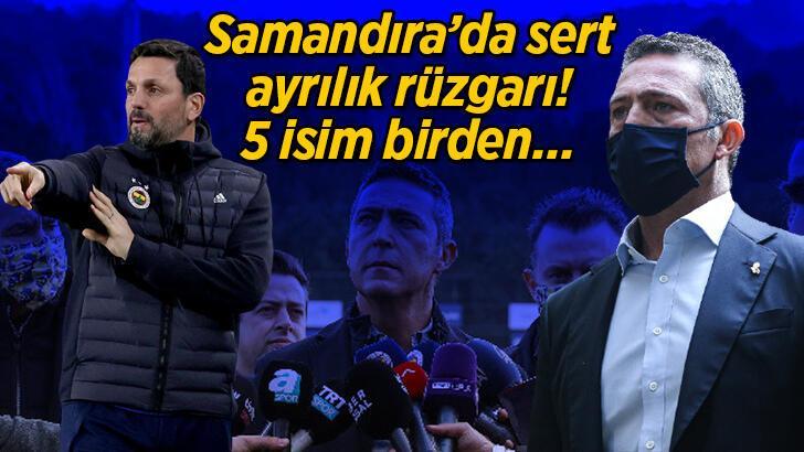 Son Dakika | Başkan Ali Koç açıklamıştı! Fenerbahçe'de 5 ayrılık birden...