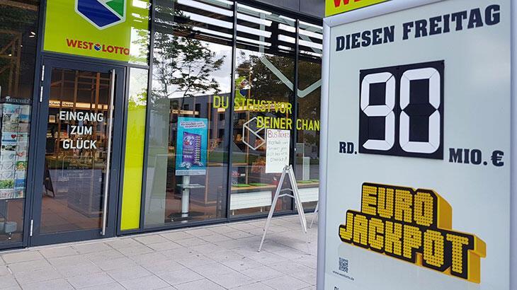 Almanya'da 94.8 milyon euro bir Türk'e çıktı