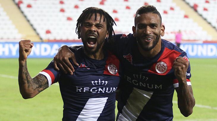 Antalyaspor'da Amilton ve Fredy etkisi