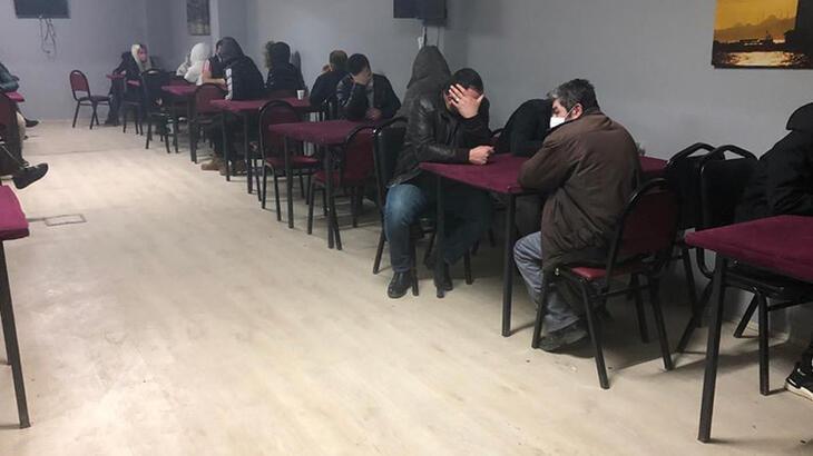 2 dernekte kumar baskını! 63 kişiye ceza yağdı