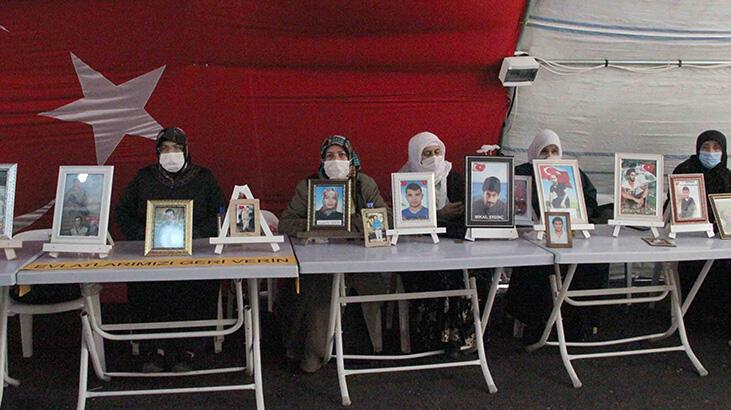 HDP'ye evlat tepkisi büyüyor! 12 aile daha eyleme katıldı