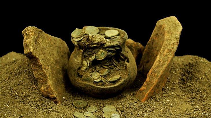 Kütahya'da Roma dönemine ait sikke koleksiyonu bulundu