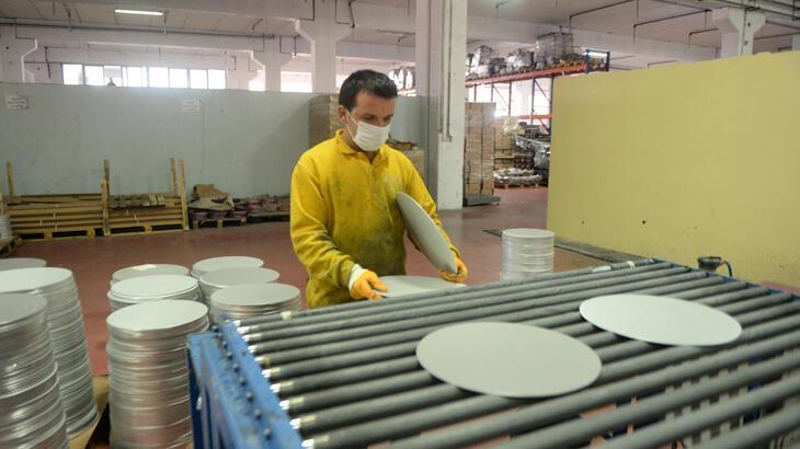 172 milyon dolarlık metal mutfak eşyası ihraç edildi