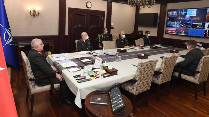 Genelkurmay Başkanı Orgeneral Yaşar Güler'den NATO ile kritik toplantı