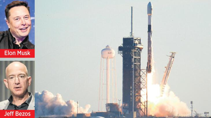 Uzayda uydu savaşı
