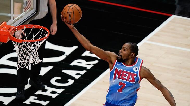 NBA'de Brooklyn Nets, zorlandığı maçı yıldızlarıyla kazandı