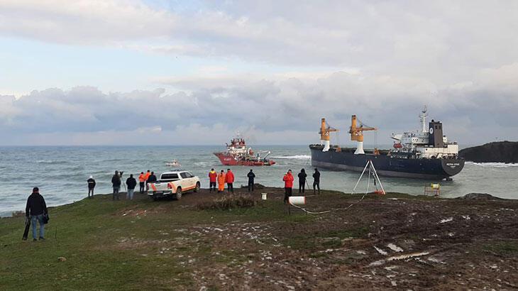 Valilikten Riva'da sürüklenen gemiyle ilgili açıklama