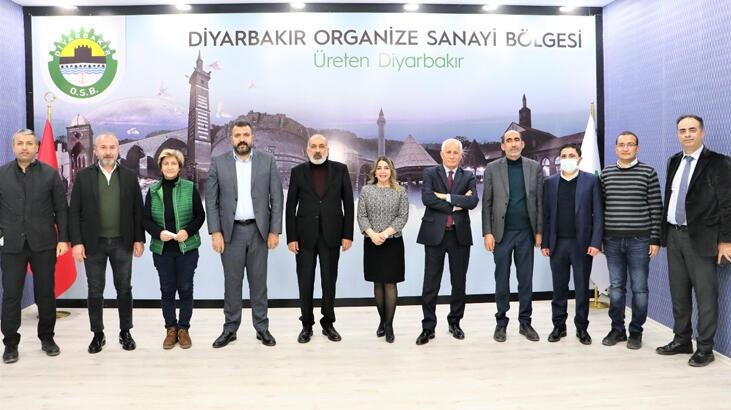 DTSO ve Diyarbakır OSB'den ortak yönetim kurulu toplantısı