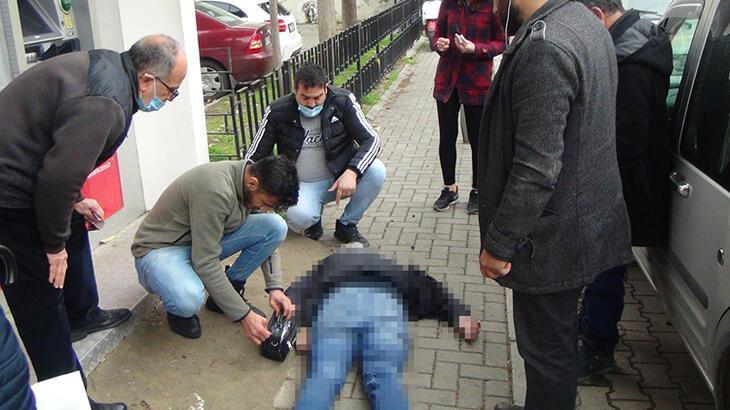 Bankamatik kuyruğunda fenalaşan adam hayatını kaybetti!