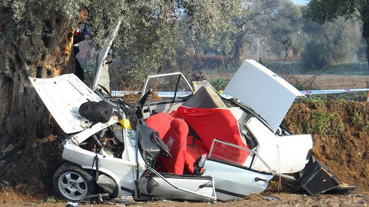 Son dakika... İzmir'de 2 kişinin öldüğü kazadan feci görüntüler