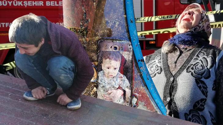 Yangında vücudu yanıp, annesini kaybeden Okay, Ankara'ya gönderildi