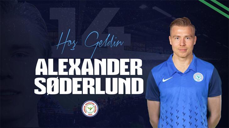 Çaykur Rizespor, Alexander Soderlund'u transfer etti