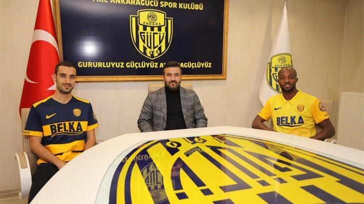 Ankaragücü, Geraldo ve Alperen Babacan'ı transfer etti