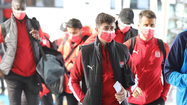Sivasspor, Alanya'ya ulaştı