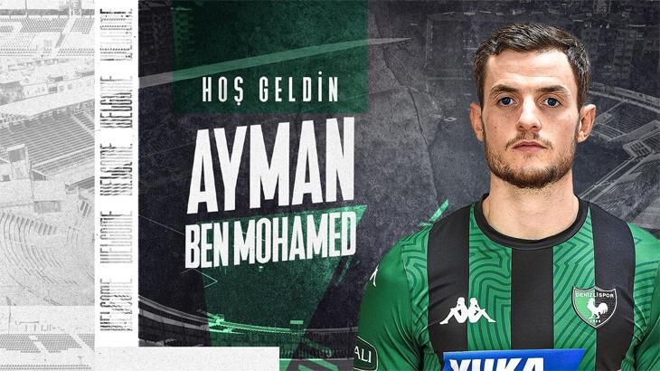 Ayman Ben Mohamed resmen Denizlispor