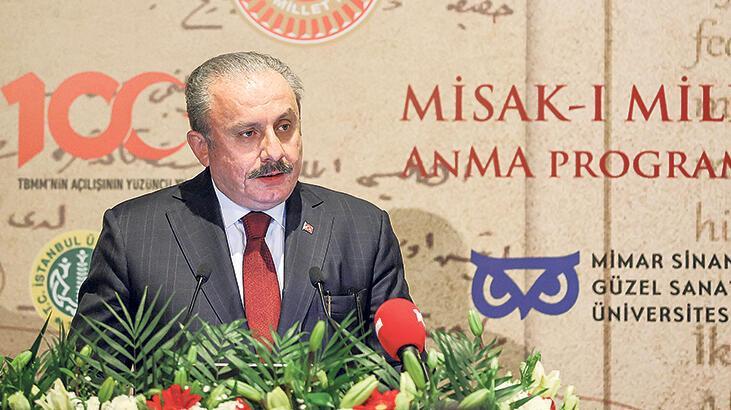'Misak-ı Milli emperyalizme karşı istiklal bildirisidir'