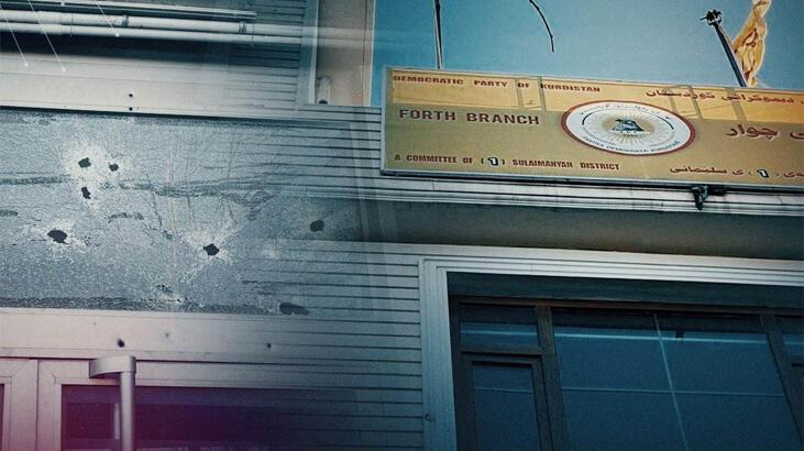 KDP binasına silahlı saldırı