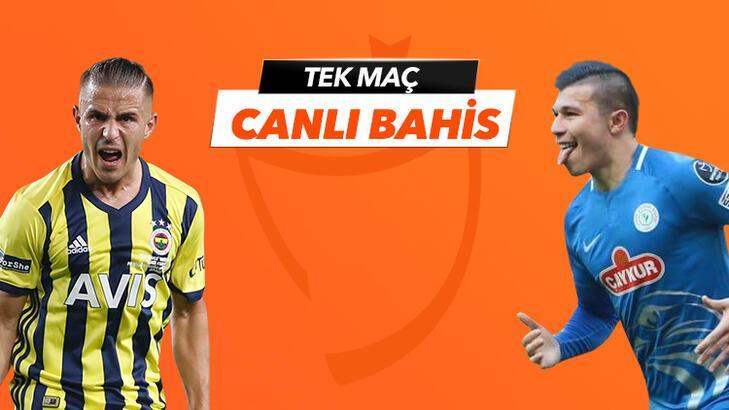 Fenerbahçe - Çaykur Rizespor heyecanı Tek Maç ve Canlı Bahis seçenekleriyle Misli.com'da