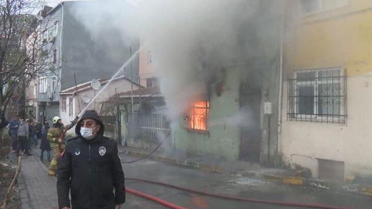 Son dakika... Beyoğlu'nda yangın paniği