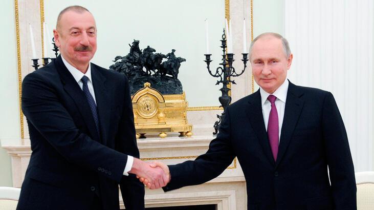 Putin ve Aliyev, Türk-Rus Ortak Gözlem Merkezini görüştü