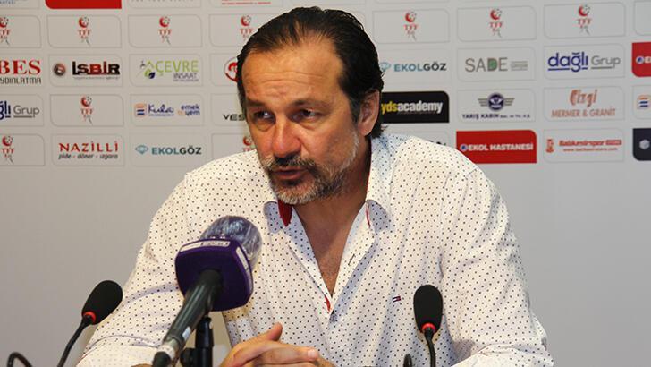 Balıkesirspor'un yeni teknik direktörü Yusuf Şimşek oldu