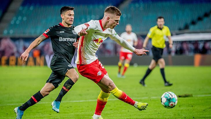Leipzig, Bayer Leverkusen'i tek golle geçti