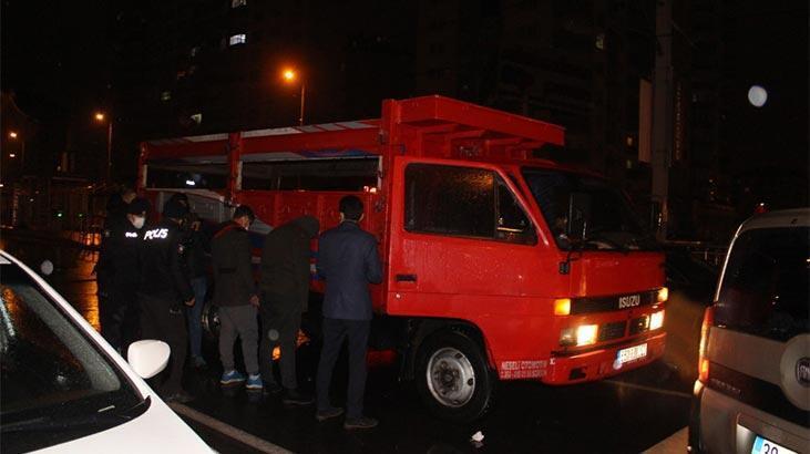 Polisin 'dur' ihtarına 3 kişi kovalamacayla yakalandı