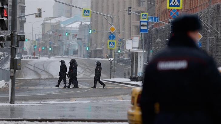 Navalny protestosu öncesi sıkı güvenlik önlemi
