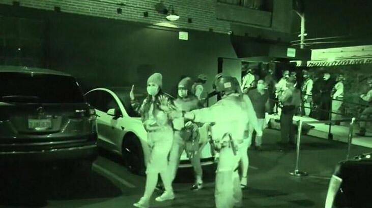 Fransa'da sapkın partiye baskın! 92 kişi yakalandı
