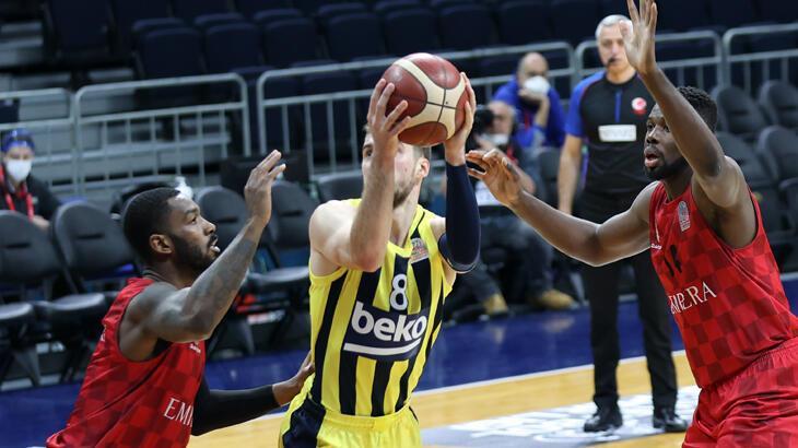 Fenerbahçe Beko: 97 - Empera Halı Gaziantep Basketbol: 102