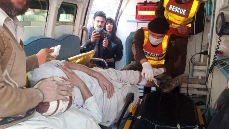 Pakistan'da patlama: 4 yaralı