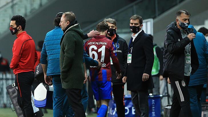 Son dakika - Trabzonspor'da Abdulkadir Parmak sakatlandı! Gözyaşlarıyla...
