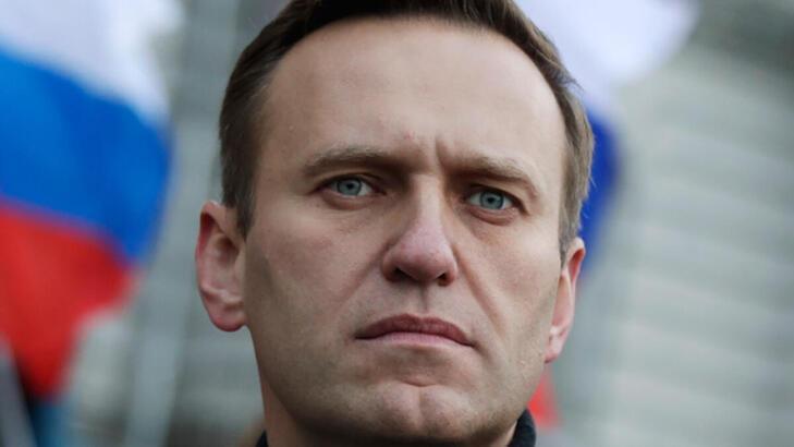 Hollanda'da, Rus muhalif Aleksey Navalnıy'e destek için gösteri düzenlendi