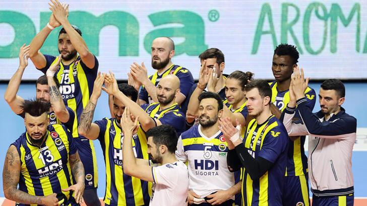 Fenerbahçe HDI Sigorta-Tokat Belediye Plevne: 3-1